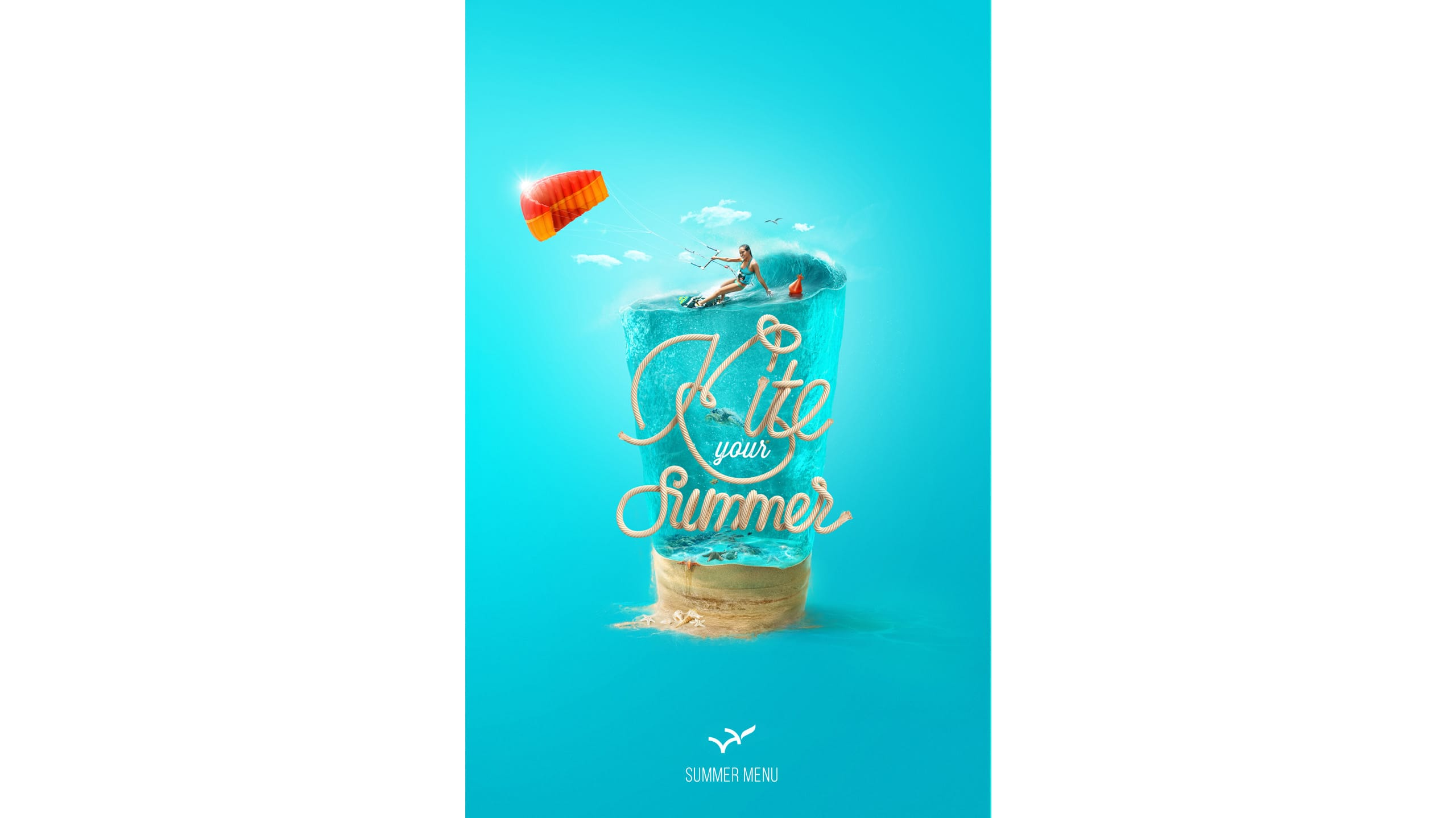 Постер Kite your summer от Feel Factory